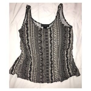Tribal Elephant printed tank by See you Monday L.A